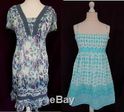 100 Dresses Wholesale Bundle Joblot Great Pre-owned And New With Tags