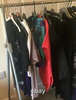 14 Mixed Bundle Of New Womens Clothing Sizes 8-14 Tops Dresses Jumper Jeans