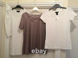 14 Mixed Bundle Of New Womens Clothing Sizes 8-14 Tops Dresses Jumper Jeans 4