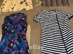 20 Items Job Lot Bundle Vintage Womens Clothing Dresses Dress 60s 70s 80s 90s