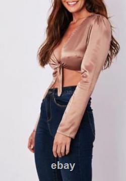 30X WHOLESALE Women Clothes V Neck Crop Top PARTY Vests Job Lot Bundles UK