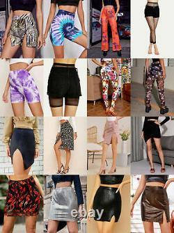 40 Pcs Lot Wholesale Mixed Womens Dresses Tops Jeans Juniors Clothing S M L