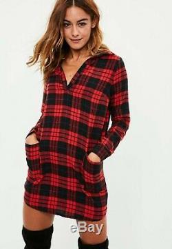 45kg x Ladies Flannel Checked Dresses Wholesale Job Lot Bundle