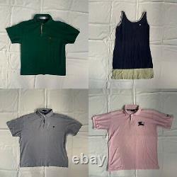 46 Item Vintage Burberry Clothing Wholesale Bundle Mens/Womens