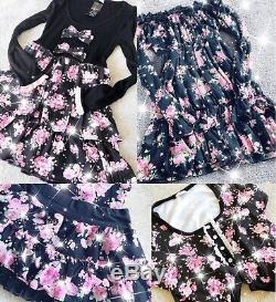 4x women clothes bundle Agejo Hime Princess Gyaru
