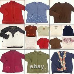 500 Piece Wholesale Lot Women Clothing Bulk Resale Bundle Tops Bottoms Outerwea