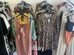 50 Piece Job Lot Womens Clothing Boohoo, Plt, In The Style Etc Size 4-20+ NEW