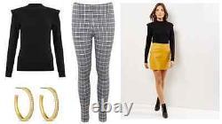 50 x BRAND NEW Ladies Clothing Bundle UK SIZE 8 Wholesale Job Lot New Look ASOS