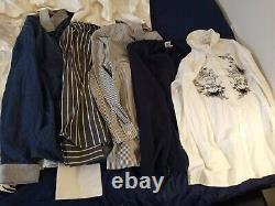 62 Pc Mixed Womens Clothing Bundle Lot Tops Long Sleeve button down Sleeveless