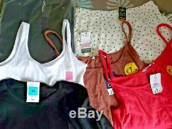 BNWT Huge Bundle Joblot Mens Ladies Clothes 44 Items Mixed Sizes & Brands