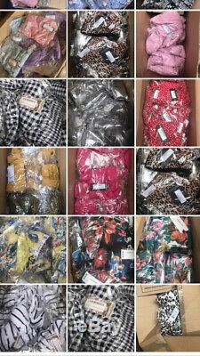BNWT Ladies Branded Mix Joblot Boohoo ASOS Newlook 100 Items Cheap Bundle