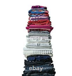 Bulk Bundle Grade A used Mixed size Clothing Men, Womens Childrens 100kg X1234