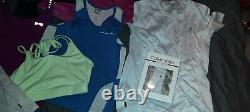 Bundle Of Womens Sports Clothes, summer wear, Adidas, levi's, USA pro, 11 items