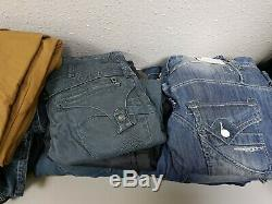 Bundle of mixed designer clothes