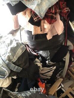 Carboot Job Lot Bundle Mens Womens Clothes Plus Childrens, Shoes, Cot Etc