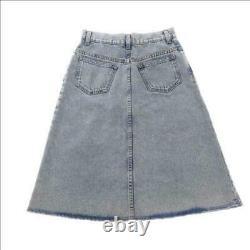 GUCCI Skirt Denim Blue Ladies Size 38 433037 Clothing Apparel l1lh4243 Japan EMS