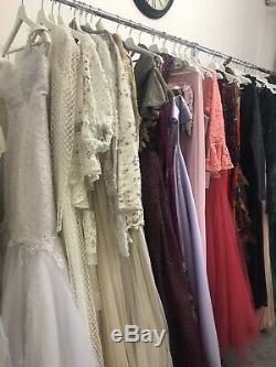 Grade A Wholesale bundle of LADIES HAUTE COUTURE DRESSES, Evening & Wedding Gown