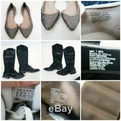 HUGE Reseller 25 Piece Bundle Lot Women Mixed Clothing Shoes Adidas Steve Madden