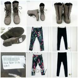 HUGE Reseller 25 Piece Bundle Lot Womens Mixed Clothing Shoes Sesto Meucci AE