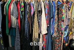 Huge Bundle Job Lot 25kg 100+ Womens Clothing New & Used Resale Boot Fair