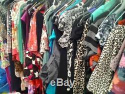Huge Joblot Women's Clothing 200 Items Size 6-20 some still BNWT