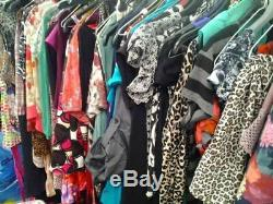 Huge Joblot Women's Clothing 200 Items Size 6-20 some still BNWT