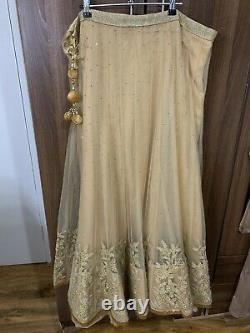 Indian Traditional Clothing Lengha Choli Ethnic Party Wear Lehenga +TWO BLOUSES