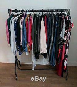 JobLot x 70 Womens Designer Clothing Items Sizes 8-16 BNWT, NWOT, Excellent Con