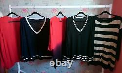 Job Lot Bundle x 20 Women's Plus Size 16 22 Clothes Wholesale Phase 8 Monsoon