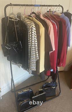 Job Lot Of 15 X Vintage Clothing & 6 X Vintage Bags, Vintage Bundle, Large Lot
