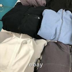 Job Lot Wholesale Vintage North Face Fleece Bundle X 10