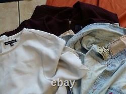 Job lot bundle womens clothes bags shoes accessories size 14-20 31 ITEMS