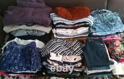 Joblot 260 pieces Bundle Mix clothes Men's & Womens size uk s, m, l, xl