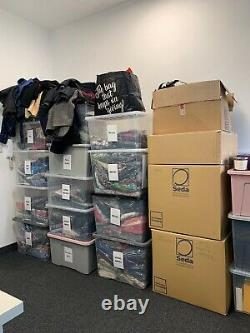 Joblot Approx 400 Items Clothes Mens Womens Reseller Carboot Wholesale Bundle