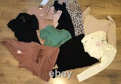 Joblot Bundle Wholesale Tops Blouse Size 8 Clearance 120 Items