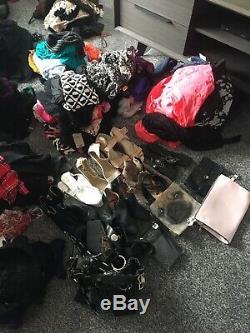 Joblot Womens/Ladies Designer Clothing Bundle 264 Items NWT, NWOT Sizes 14 20