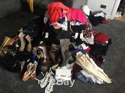 Joblot Womens/Ladies Designer Clothing Bundle 348 Items NWT, NWOT Sizes 12 20