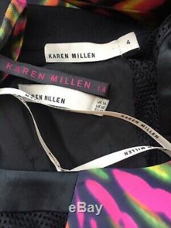 Karen Millen Dress & Cardigan Top & Bag (Set Of 4 Items Bundle)Size 14