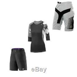 Ladies Small MTB Cycling Clothing Essentials Bundle
