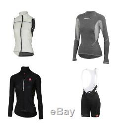 Ladies X-Large Castelli Road Cycling Clothing Bundle