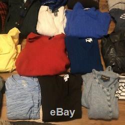 Large Box Mixed Womens Clothing Jackets Sweaters Lot Bundle Wholesale Resale