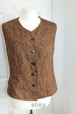 Liz Malraux Design 90s VTG Wool Mixed Clothes Bundle German Coat Skirt Designer