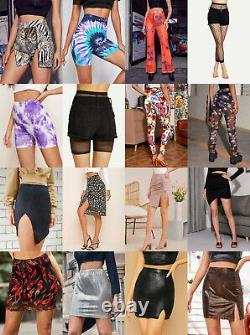 Lot 20 Pcs Wholesale Clothing Women Mixed Tops Dresses Bottoms Apparel S M L