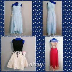 Massive Joblot Bundle New Party, Prom, Bridesmaid Maid Of Honor X40 woman Dresses