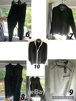 Massive women's clothing bundle Zara Top Shop H&M Bershka plus more