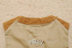 Mister Freedom Range Vest Brown 34 women boys size