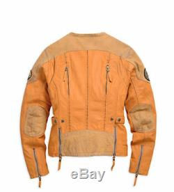 SALE! Harley Davidson Women's Aurora Leather Jacket, 97066-15VW, Size 1W
