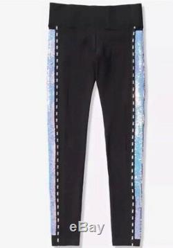 Victorias Secret PINK Iridescent Sequins Bling Bundle Lot Of 3 Size M