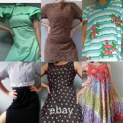 Vintage 29 x Dress Wholesale Bundle Resell 50s 60s 70s 80s 90s Grade A & B