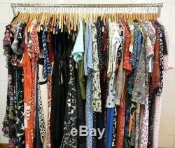 Vintage Dress Job lot 70's 80's 90's 40 x Dress Bundle